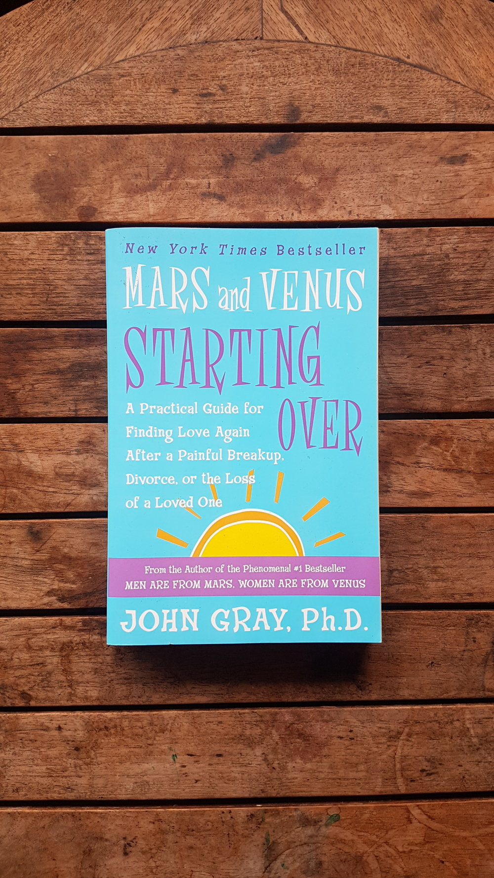 Mars and Venus Starting Over: A Practical Guide for Finding Love Again After a Painful Breakup, Divorce, or the Loss of a Loved One   by John Gray