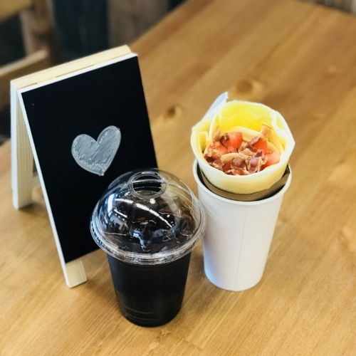 Crepes or Omelettes - Freshly made by order using high quality ingredients