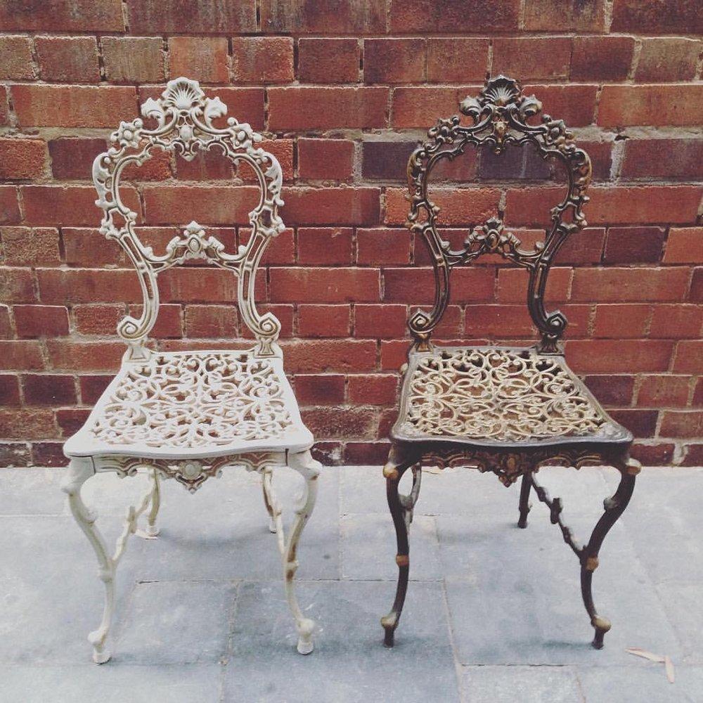 Duke + Duchess (Royal Chair Pair) # $15 each
