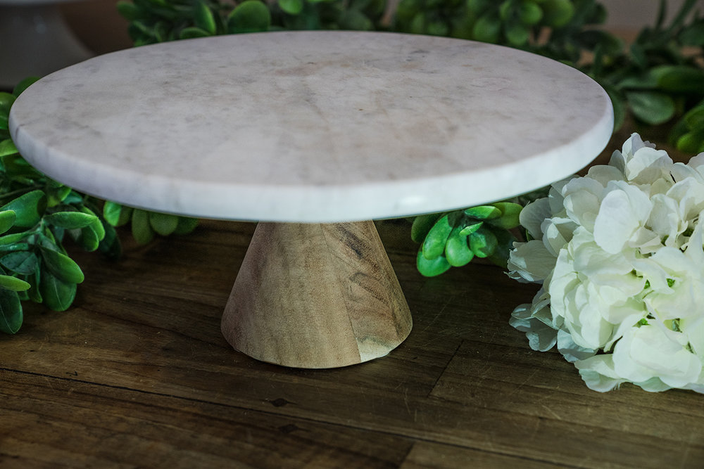 Marble Cake Stand # $10