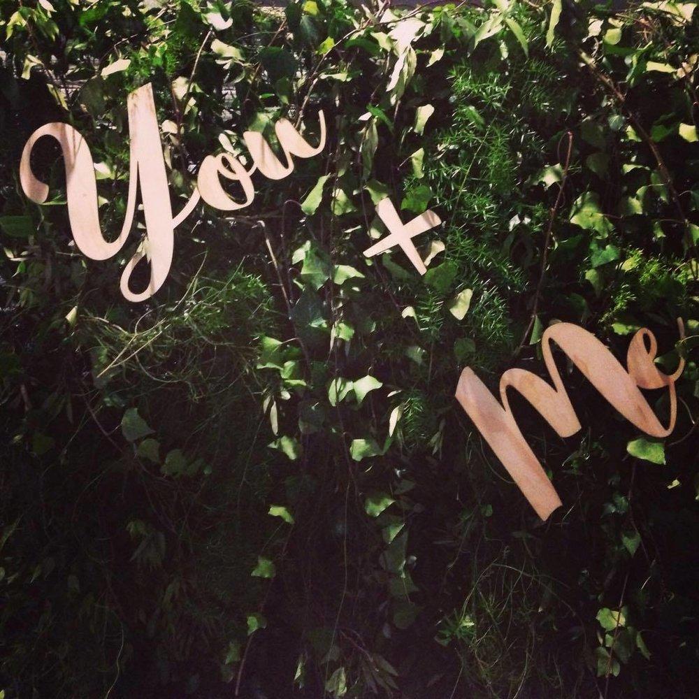 You + Me # $40