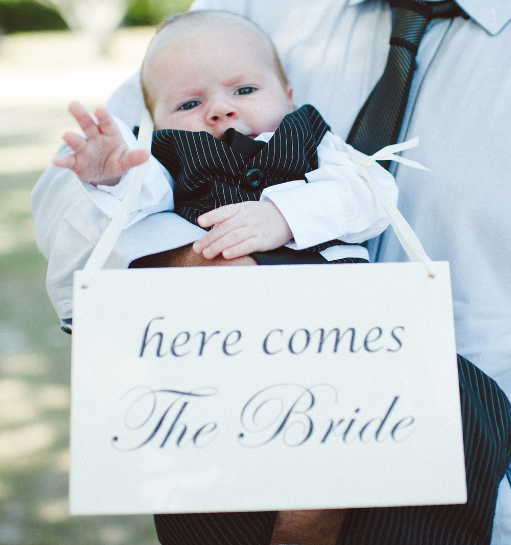 Here Comes the Bride Sign # $5