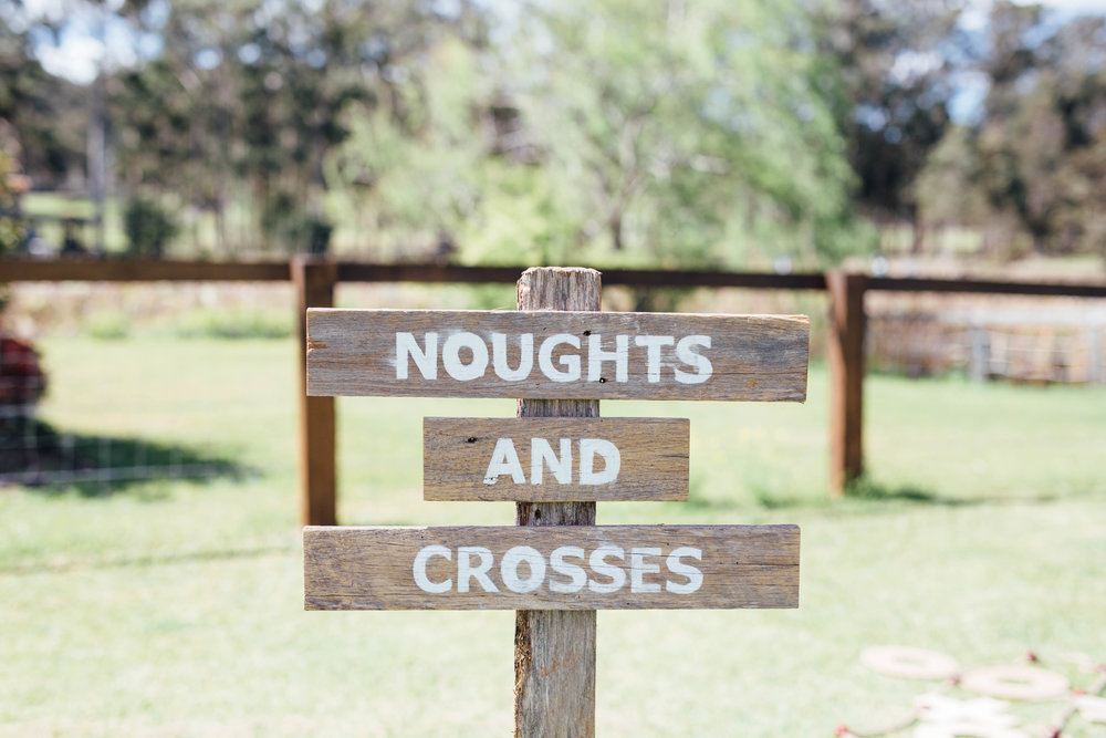 Noughts + Crosses Sign # $5