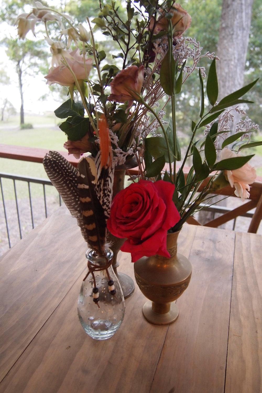 Feather Arrangements # $6 each
