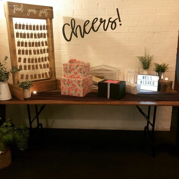 Pallet Seating Chart # $40