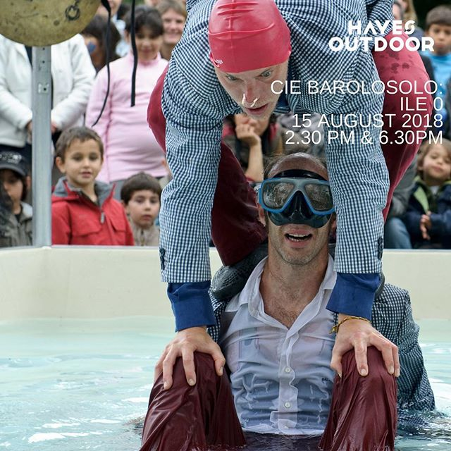 Join us for some clowning around and lots of splashing about too! Weds 15 August 2.30 & 6.30 #free #clowns #water #fun #family #hayeslondon #hayesoutdoor #highpointvillage #whatson #thingstodo #freeandcheap #circus250 #circulatelondon