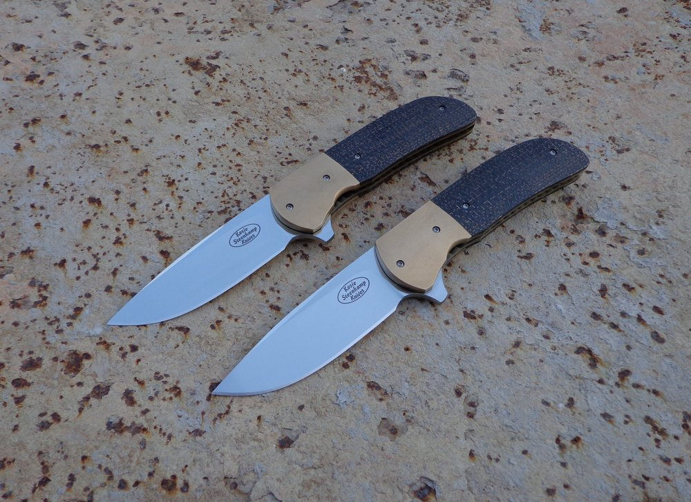 Knives: Berkenfield Piuma Flippers.