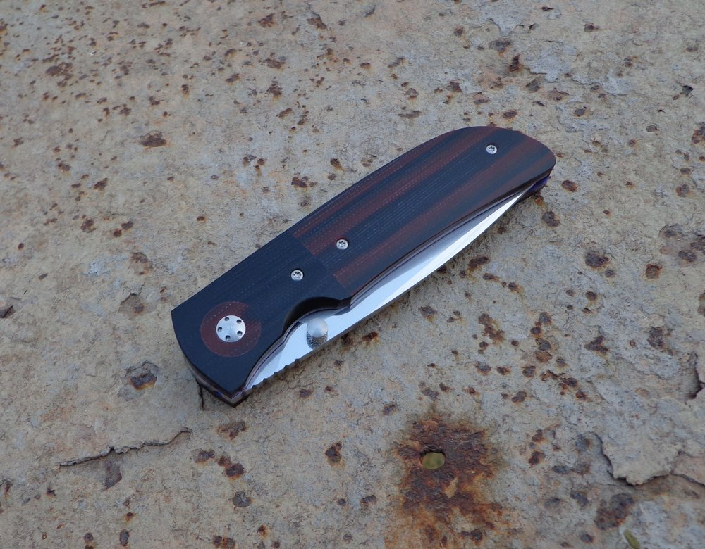 Knife: Hanson Liner Lock.