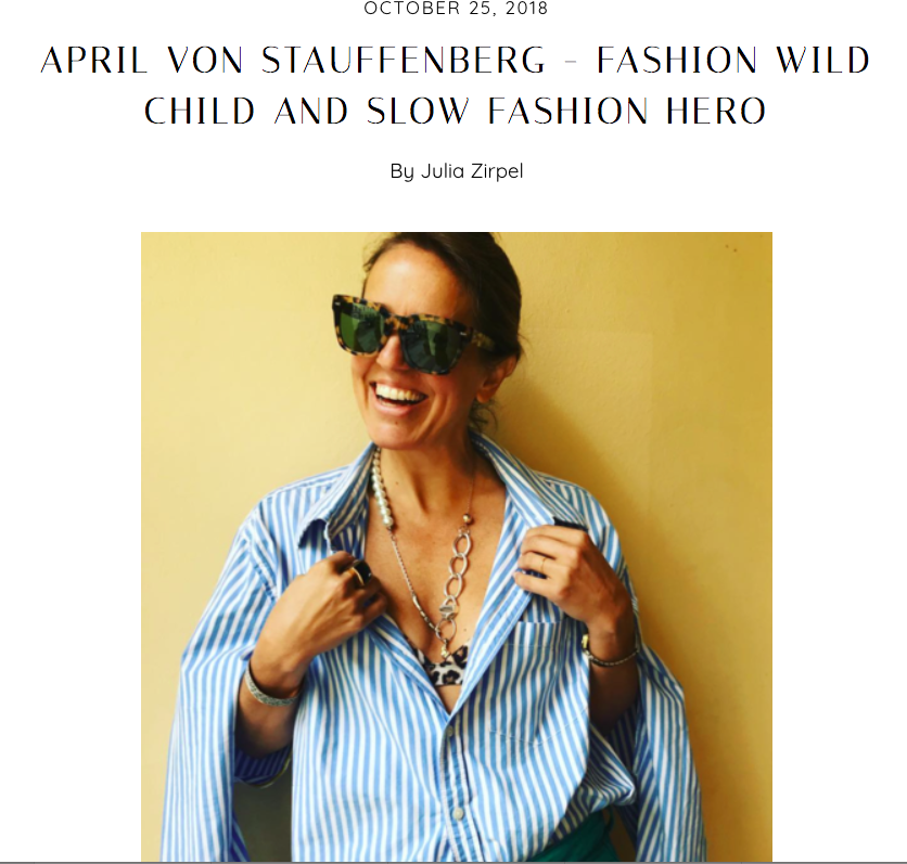 Incredibly grateful to The Wearness for believing in me and helping me launch AFTER MARCH. The interview with Julia Zirpel is  here  and my shirts at thewearness.com are at the bottom of the page  here .