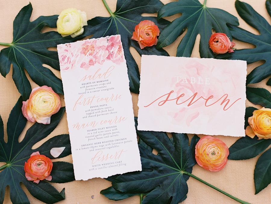 Custom stationery design | Wedding planning details | Luxury destination wedding planner | Unveiled Hawaii
