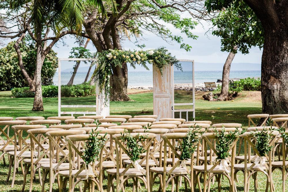Maui Wedding Ceremony | Olowalu Plantation House | Luxury Destination Wedding Planner | Unveiled Hawaii