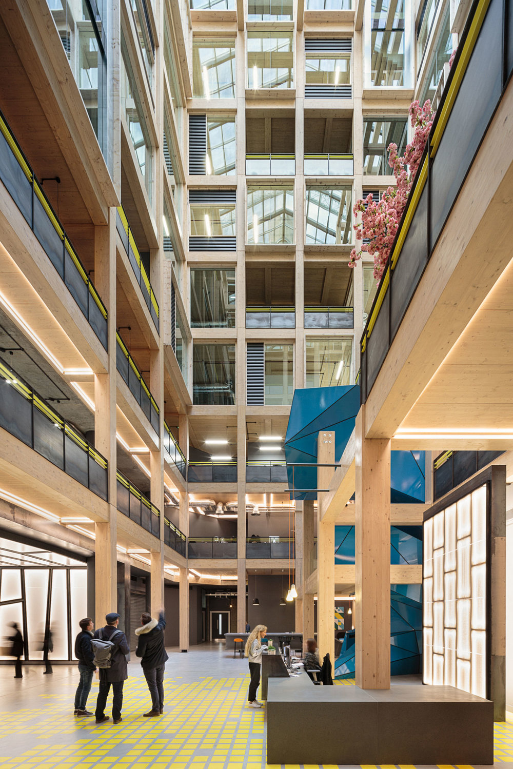 THE IMPORT BUILDING, REPUBLIC, LONDON