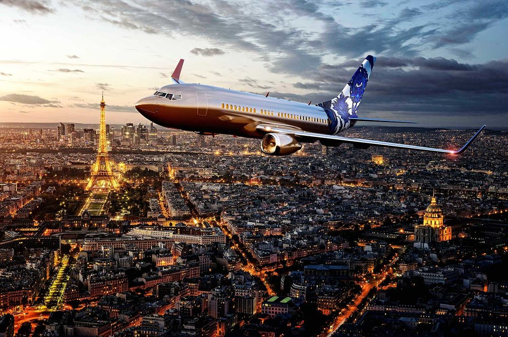 BOEING BUSINESS JET, ANYWHERE