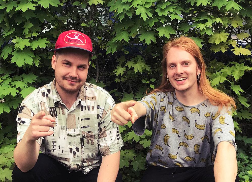 Jukka & Valtteri - Tule tapaamaan Studiomestari Jukkaa ja Toimitusjohtaja Valtteria.