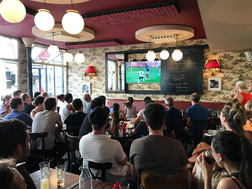 France vs Argentina, 18th Arrondisment, Paris
