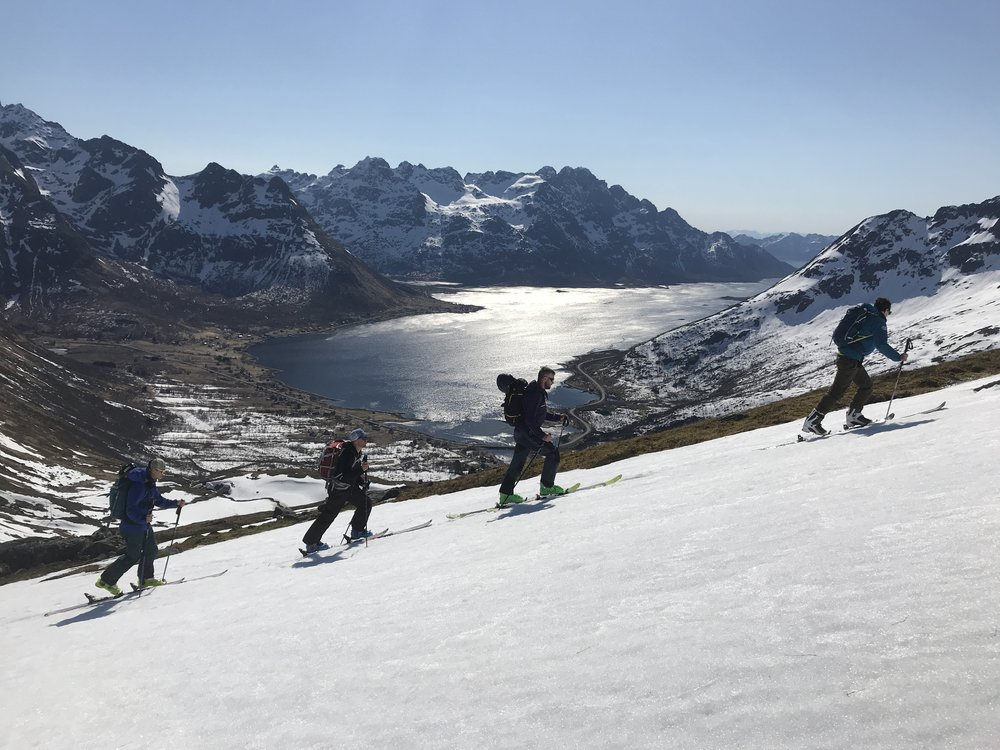 Ski Touring Norway, David Walton, Marc Walton