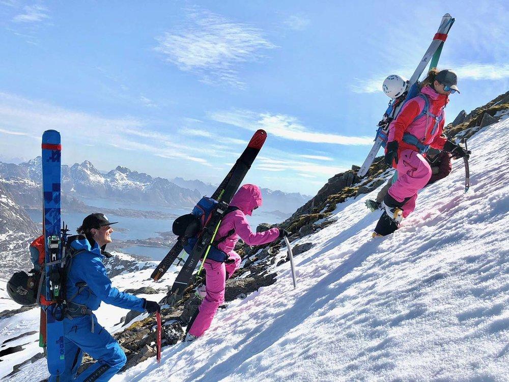 Ski touring, Norway,