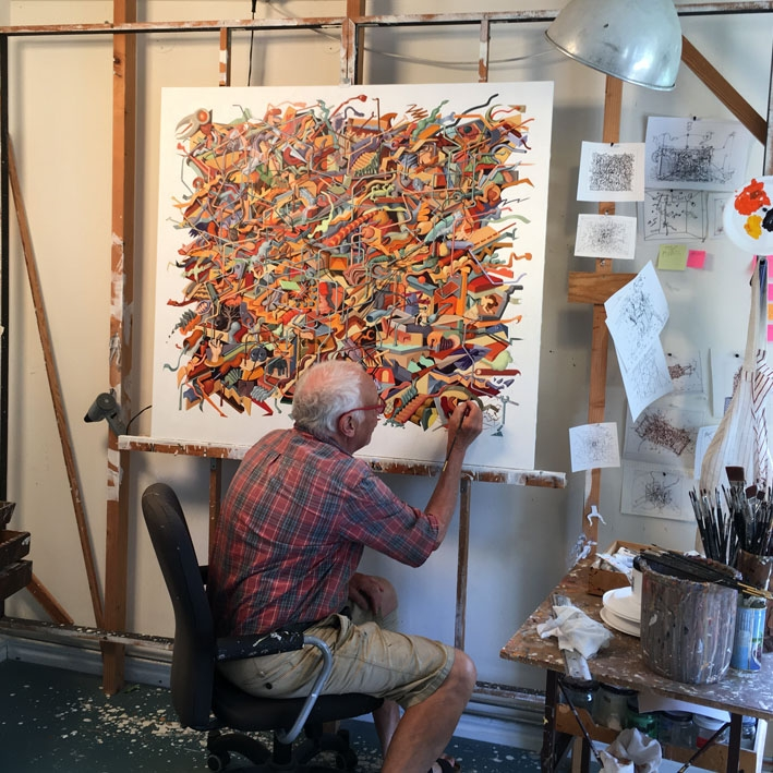 Me in my studio 2017