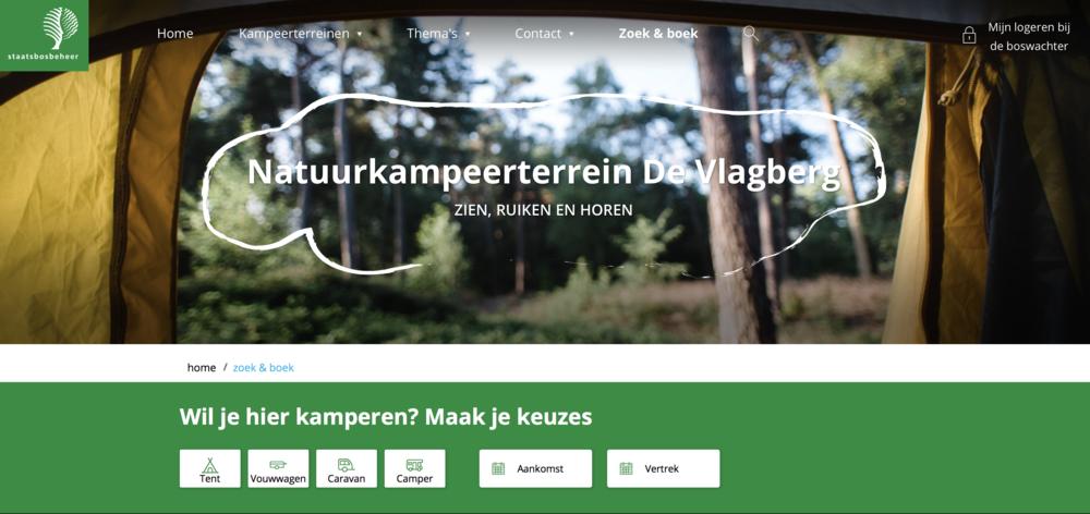 De Vlagberg: Wifi-vrije camping