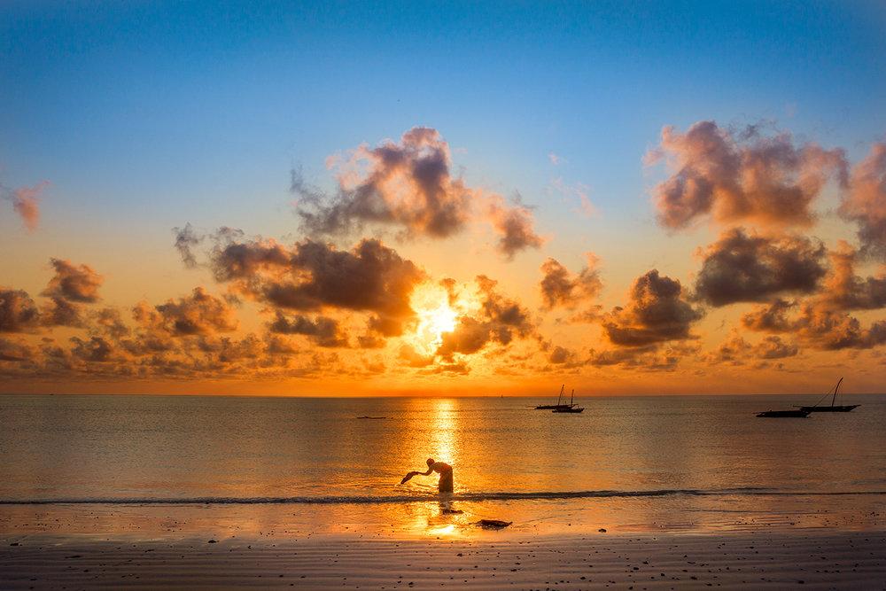 Sunrise - Jambiani - Zanzibar