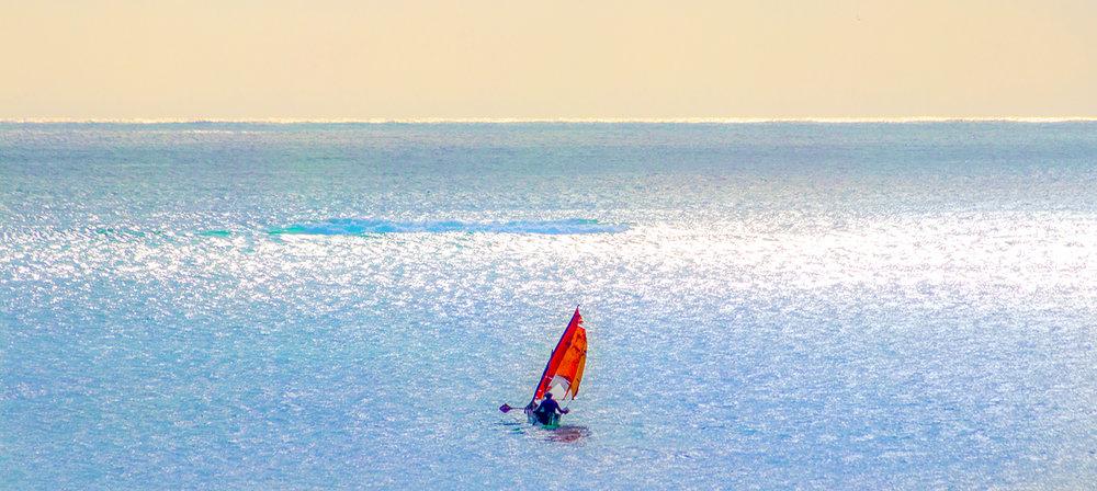Pescatore solitario - Diani Beach - Kenya