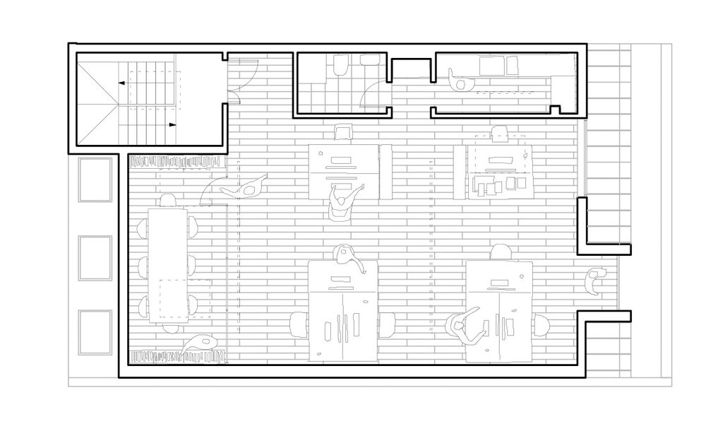 Third floor plan.