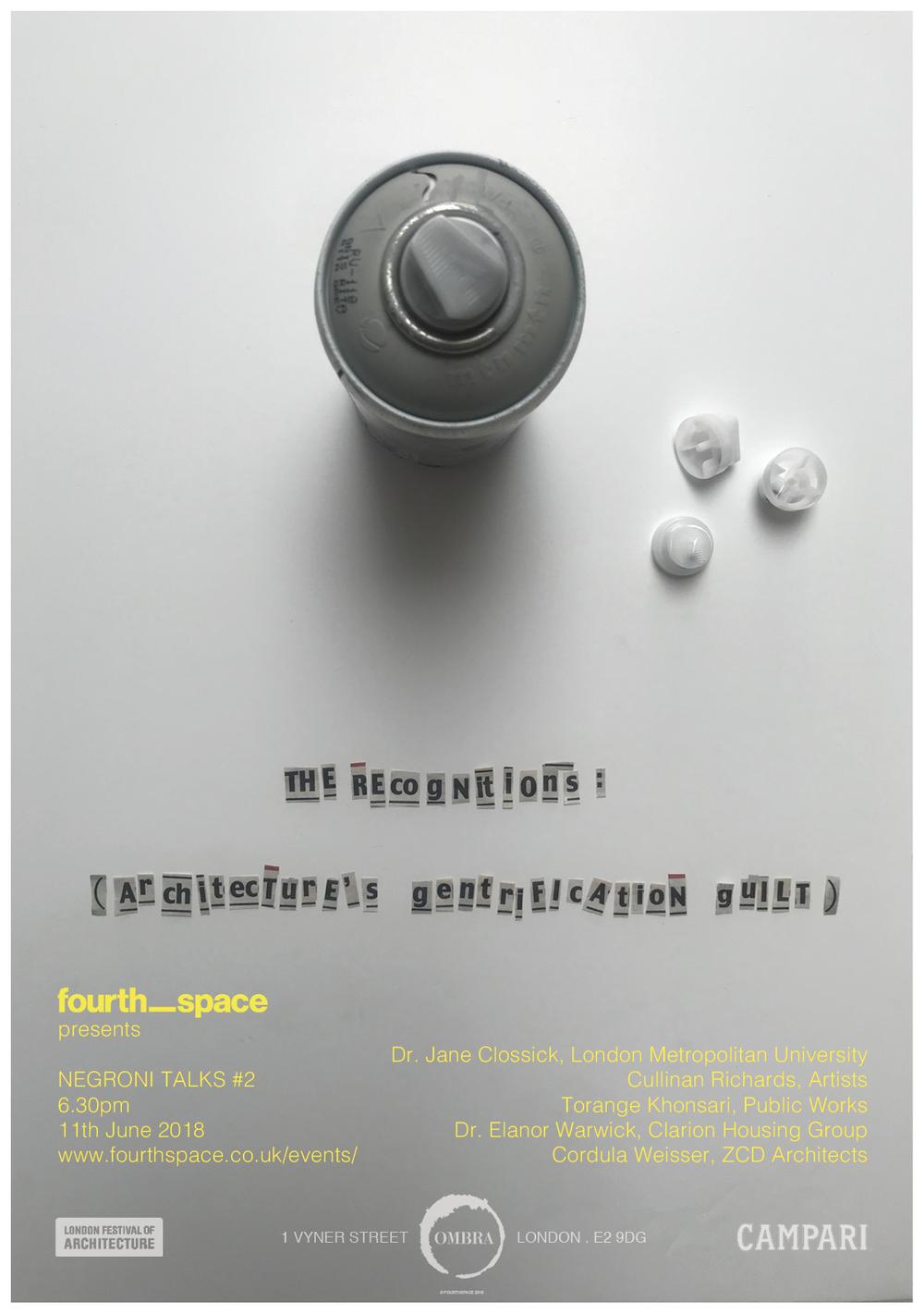 Negroni Talk #2 - 11.06.18