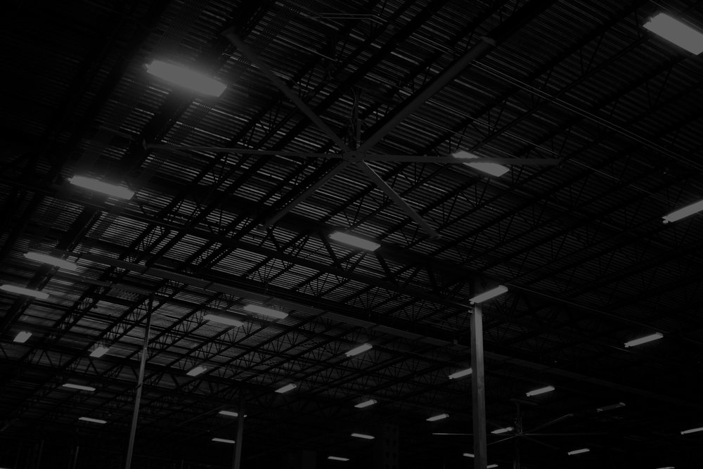 Warehouse lighting -