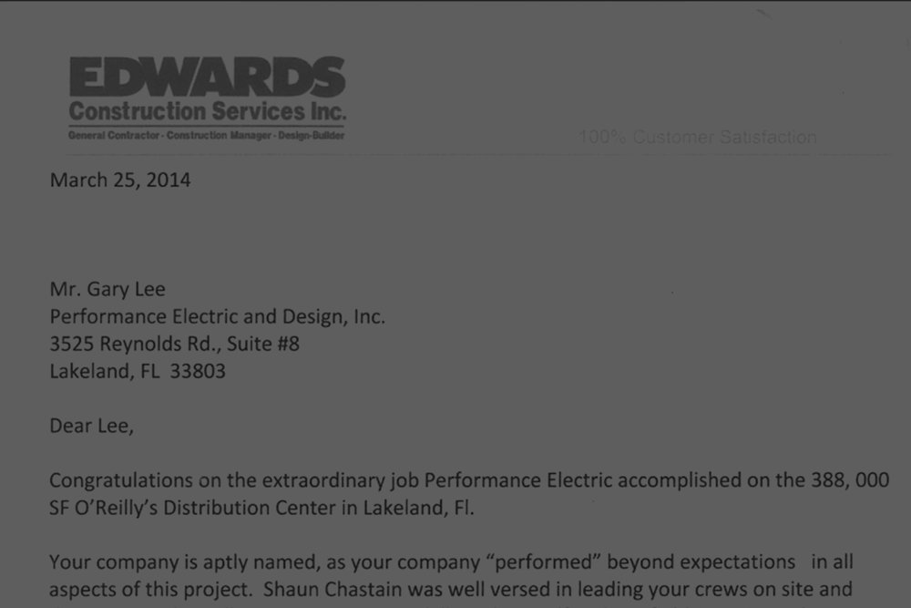 Edwards Construstion services Inc. -