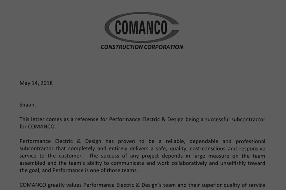 Comanco Construction Corporation -