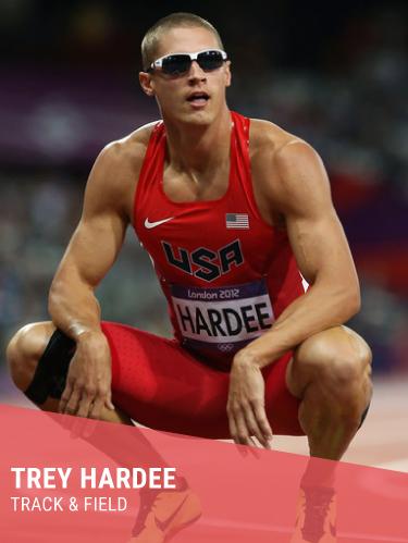 TREY HARDEE   Hometown: Birmingham, AL  College: Mississippi State/University of Texas  Olympic Silver Medalist  Instagram:  @treyhardee   Twitter:  @treyhardee   Facebook:  @treyhardee