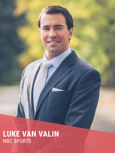 LUKE VAN VALIN   Hometown: Denver, CO  Former Professional FreeStyle Skier  Instagram:  @lukevanvalin   Twitter:  @lukevanvalin