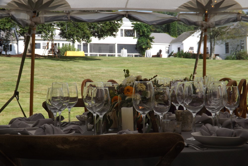 The property also lends itself beautifully for exterior private events