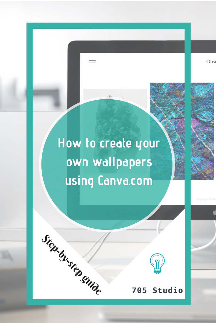 How to create Your own wallpapers using Canva
