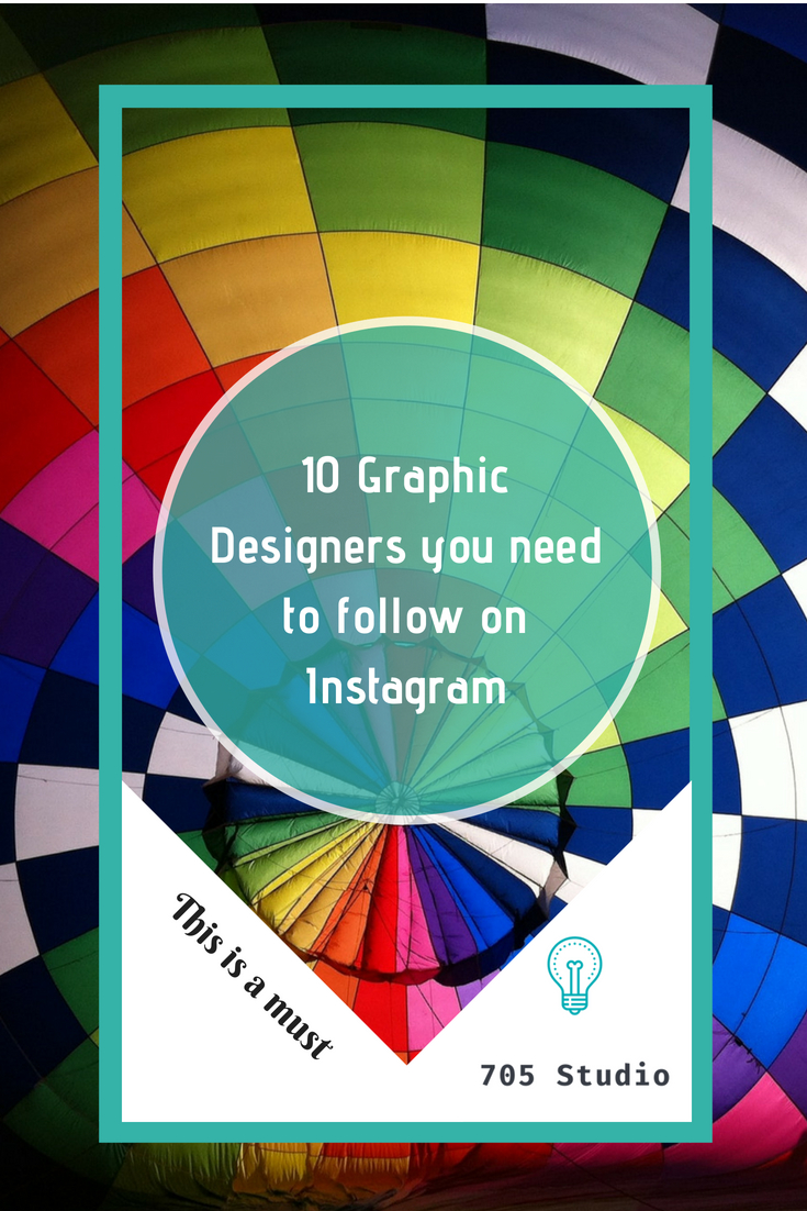10 Graphic Designers You need to follow on Instagram