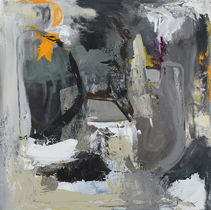 Risen, Acrylic On Canvas, 30x30 in.