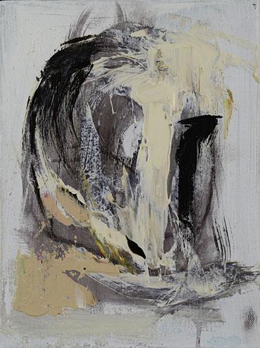 Resurrection, Acrylic On Canvas, 10x12 in.