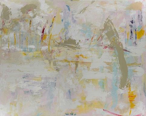 Marea, Acrylic On Canvas, 36x60 in.