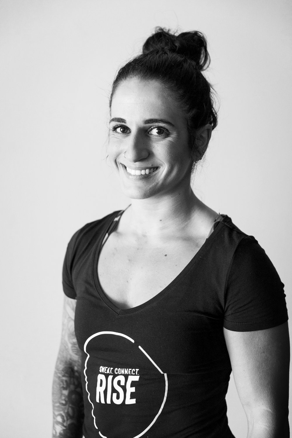 NICOLE - Nicole is a nationally ranked Olympic Weightlifter and avid CrossFitter of 5 years. She has been a competitor and athlete most of her life beginning with equestrian show jumping and now the sport of Olympic Weightlifting. Her deep passion for fitness and helping people is what drives her. Nicole has been a part of the CrossFit. She is excited to be a part of RISE and help them reach their goals