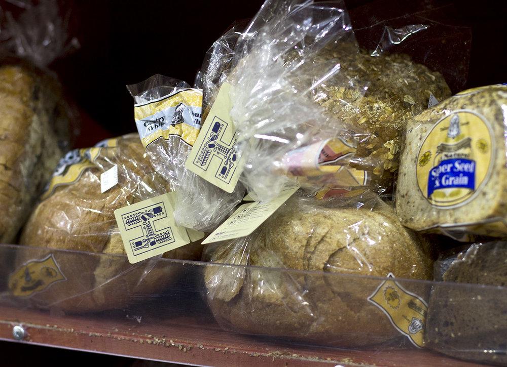 True Harvest Market tag designs for bakery goods