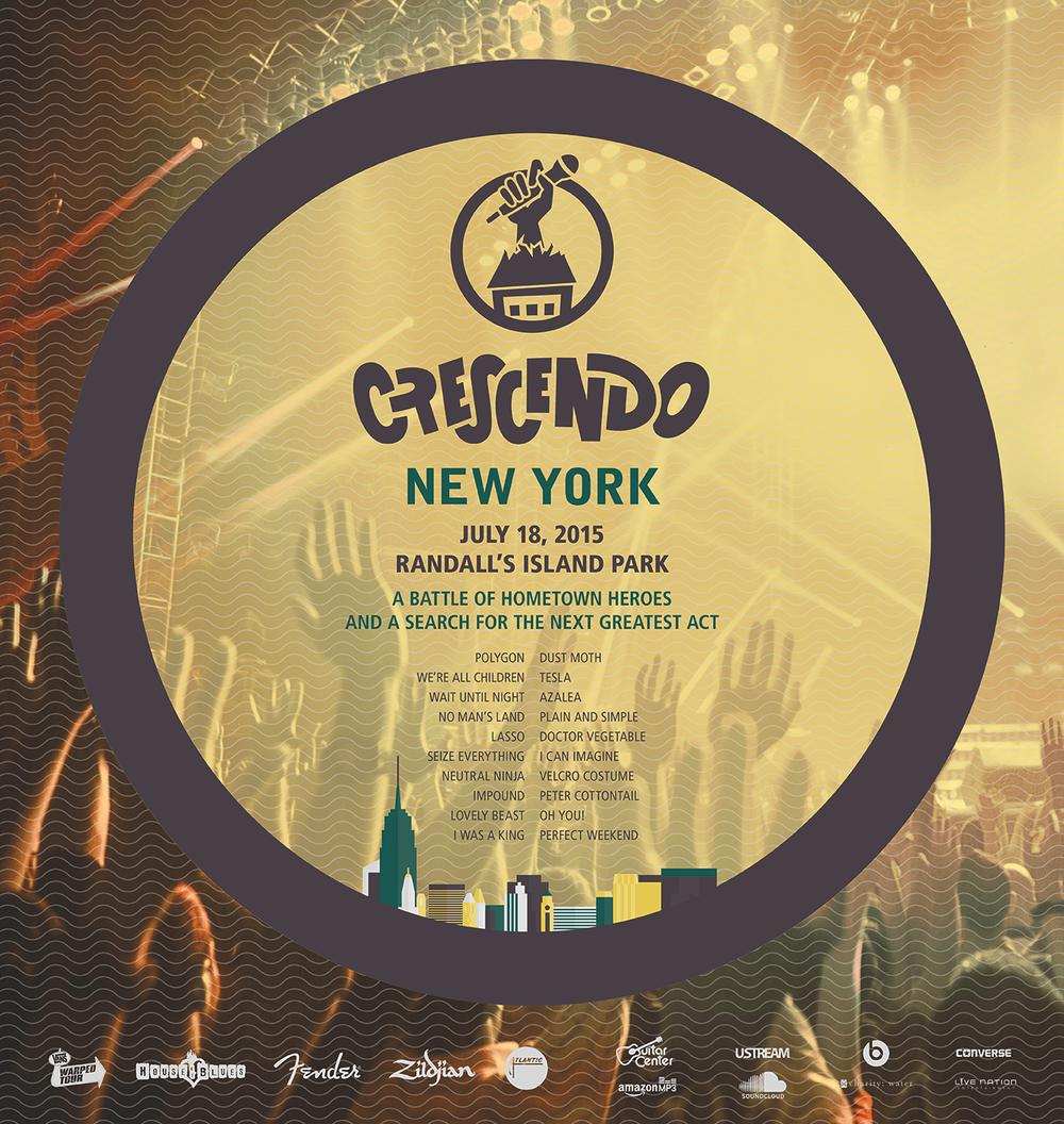 New York regional festival poster
