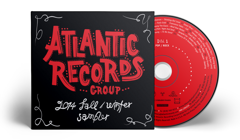 Fall-Winter Atlantic artists sampler album artwork