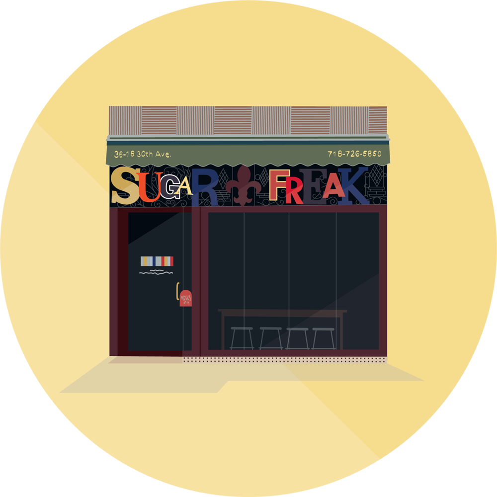 Sugar Freak, 30th Avenue, Queens
