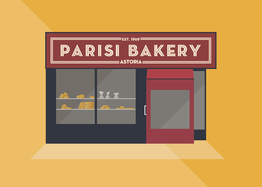 Parisi Bakery, Broadway, Queens