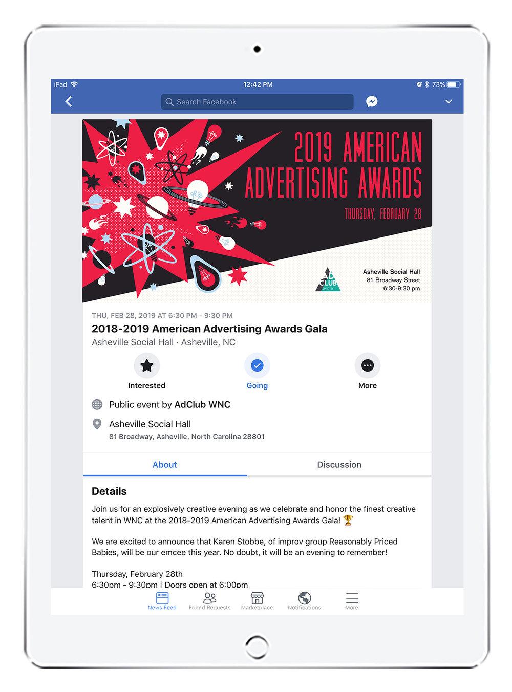 2019 Awards Gala Invitation