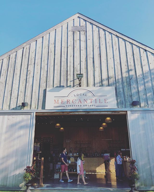It's our Vineyard Shoppe, open 7 days a week at Carolyn's Sakonnet Vineyard in Little Compton, Rhode Island! • • • • • #thoughtfullycrafted #localmercantile #vineyardshoppe #newengland #littlecompton #rhodeisland #wineandmore