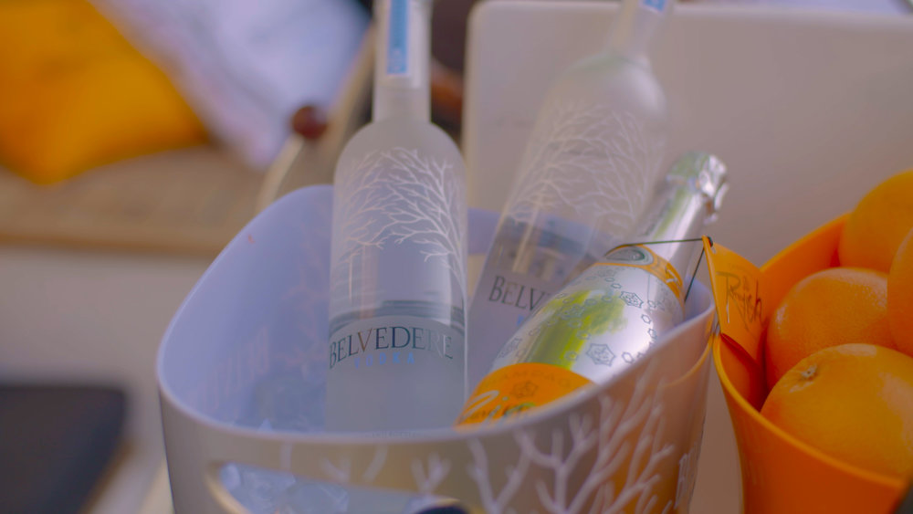 VEUVE CLICQOUT x BELVEDERE x BLUE SPOON  / Teasers