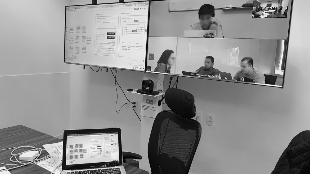 Manaus and São Paulo team prototyping on a Real Time Board