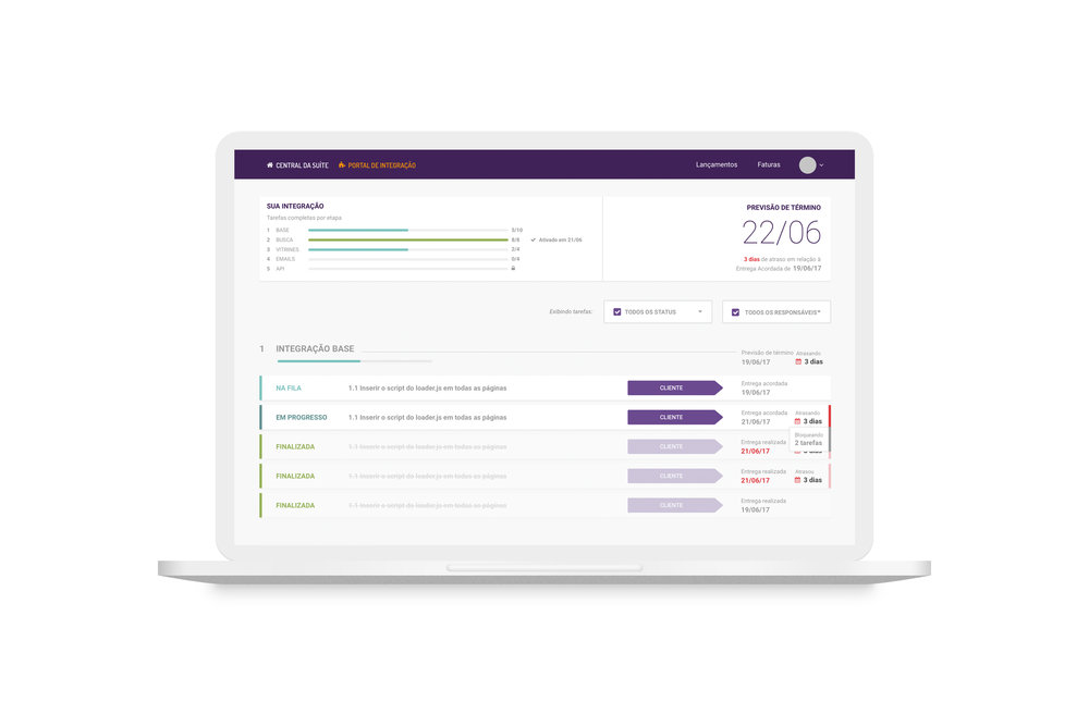 portal integração -