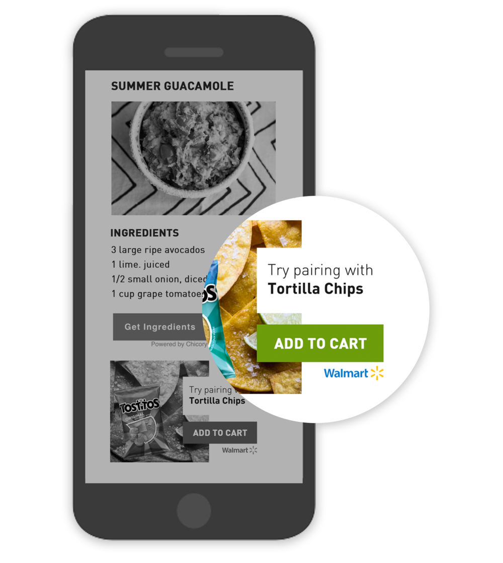 Chicory Ecommerce - Recipe Activation